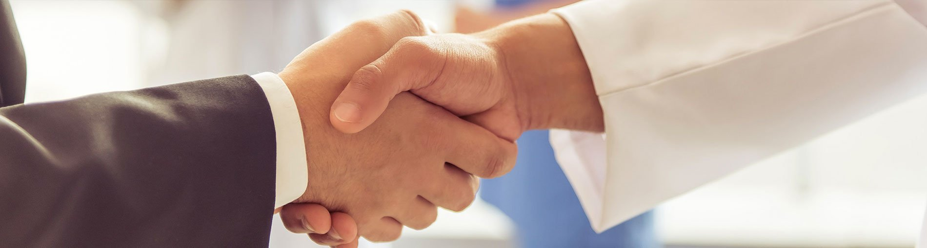 dental finance handshake