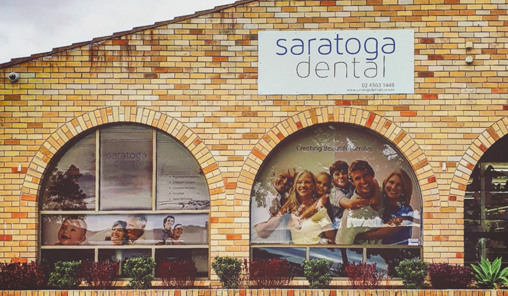 Saratoga Dental exterior